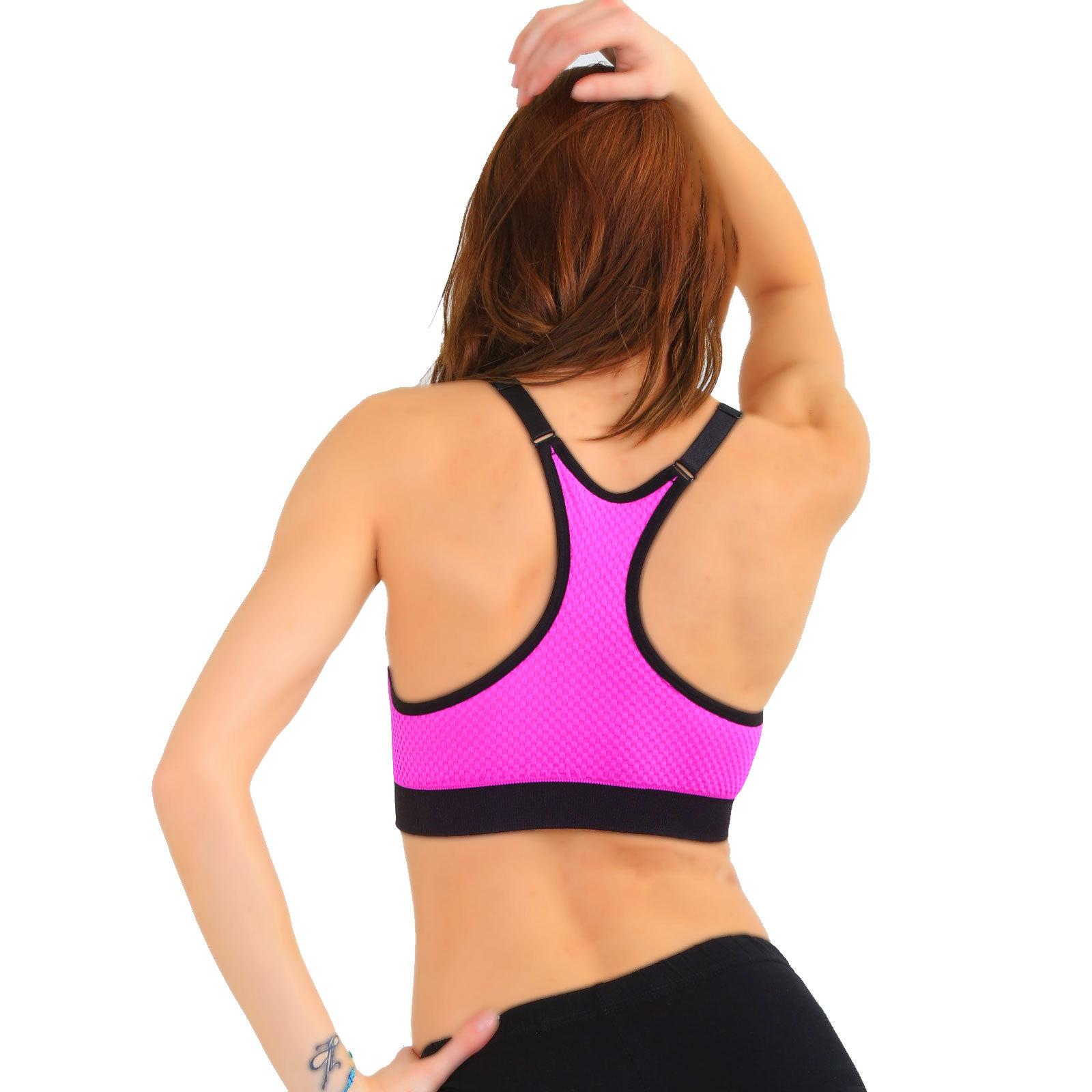 hot sport bh neon pink gelb blau violett orange sport. Black Bedroom Furniture Sets. Home Design Ideas