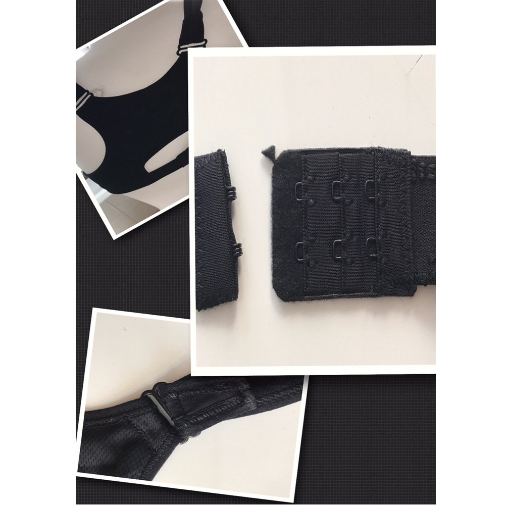 sport bh grau damen zipper ringer r cken fitness boxen tae bo mma fussball ebay. Black Bedroom Furniture Sets. Home Design Ideas